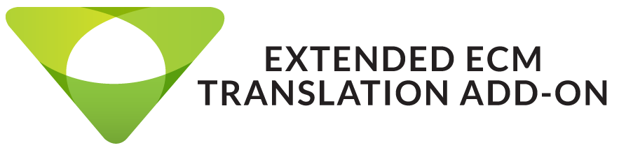 OpenText Translation Module - Extended ECM Add-on